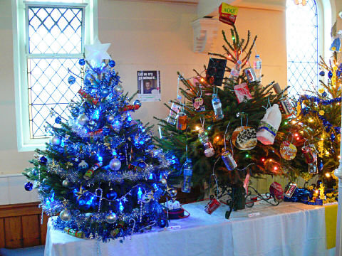 Skegness Methodist Church Christmas Tree Festival 2009